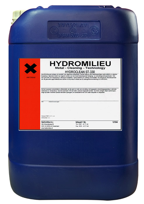 Hydroclean ST-330 - Geconcentreerde reiniger en ontvetter voor algemene toepassingen